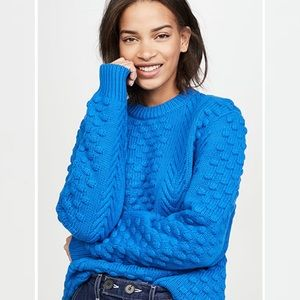 Tory Burch // Chunky Merino Cable Knit Sweater